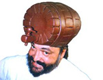 Wooden Barrel Headgear