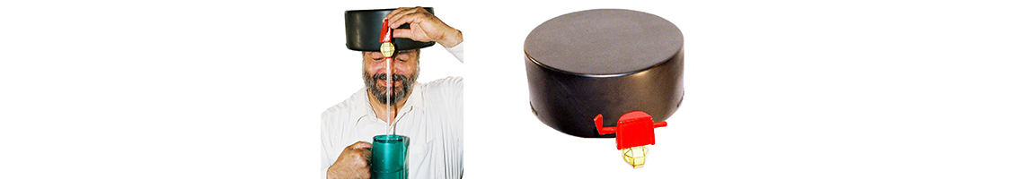 Hockey Puck Headgear